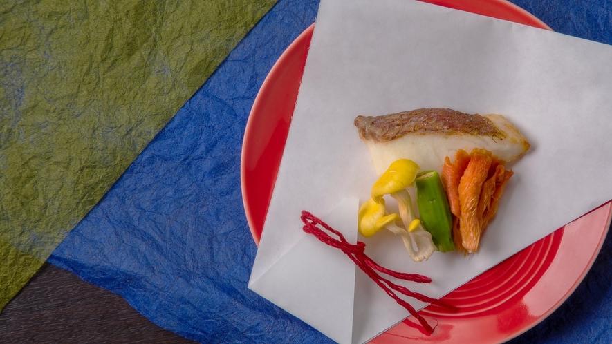 【美湖膳】2021春メニュー≪魚料理≫桜鯛塩麹焼き