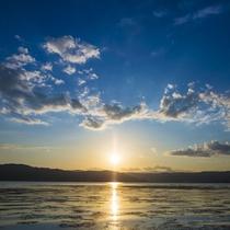 【諏訪湖】ゆっくりとした時間を過ごす休日。