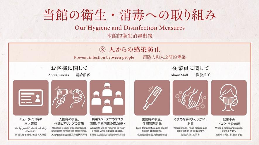 当館の衛生管理プログラム その2