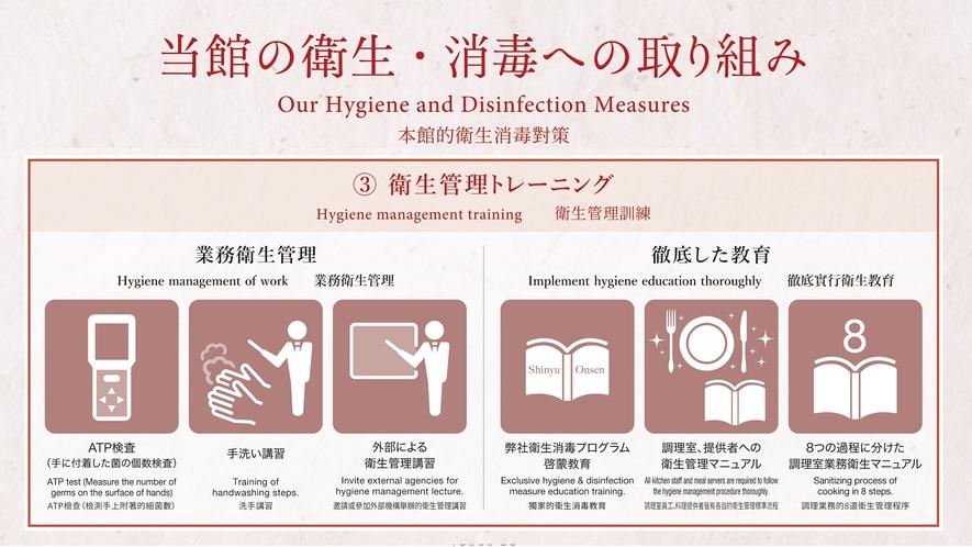 当館の衛生管理プログラム その3
