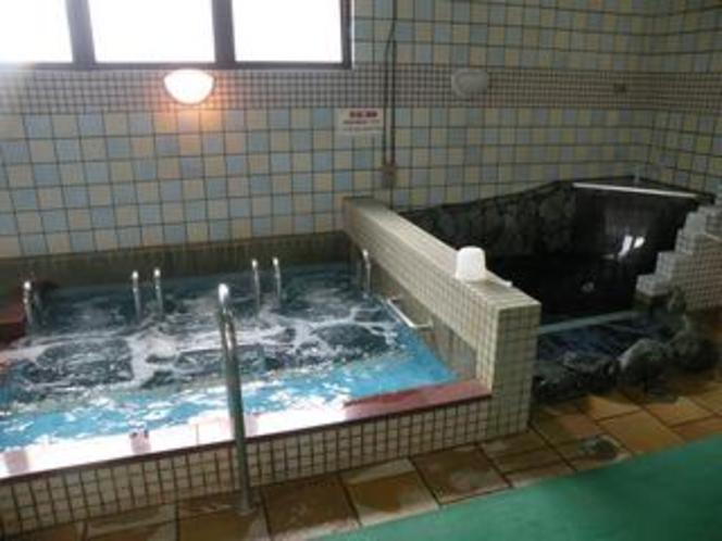 気泡風呂&水風呂