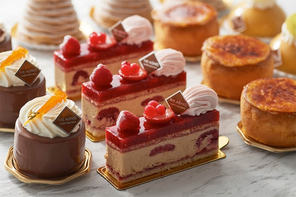 朝食付【ちょっとしたご褒美に♪特製ケーキ&ドリンク付きプラン】