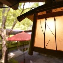 京都の夏の風物詩「川床」をお楽しみ下さい。