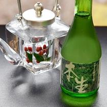*【地酒】京都の地酒も是非ともお愉しみ下さい。(別途料金)