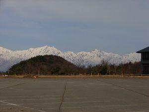 駐車場からの絶景