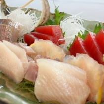 新鮮地魚の盛合せ