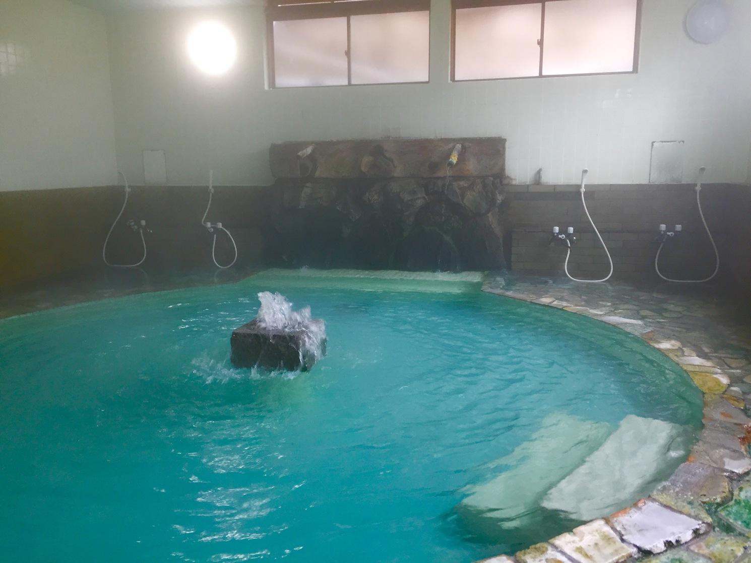 「打たせ湯付き大浴場」を貸切でご利用頂けます!