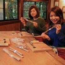 箸作り体験 材料選び1