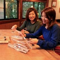 箸作り体験 材料選び2