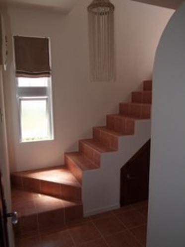 二階に上がる階段ホール