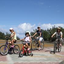 自転車をレンタルして親子でサイクリングしてみませんか?