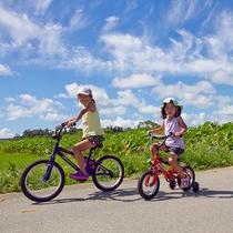 お子様用自転車もご用意しております。