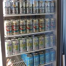 沖縄といえばオリオンビール!売店でどうぞ♪
