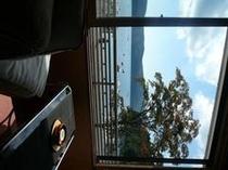 嶽影楼松坂屋湖畔側客室