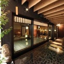 ■男性大浴場 〜外気浴〜