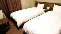 ■ツインルーム20平米(ベッド幅100cm×205cm×2台)■