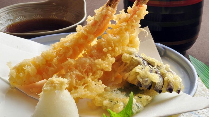 【お料理一例】サクサクの揚げたて天ぷら