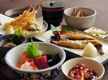 【観光向けプランご夕食一例】英気を養える美味しいお食事