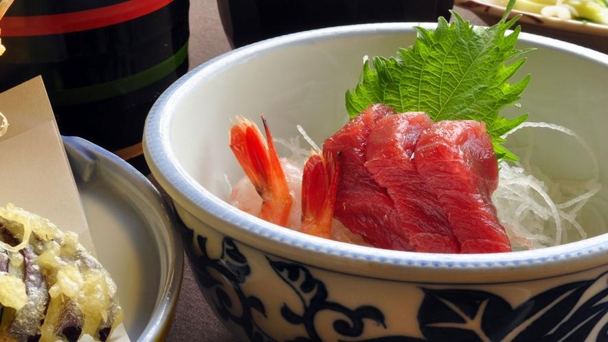 【ビジネスプランのご夕食】新鮮な海の幸をご提供