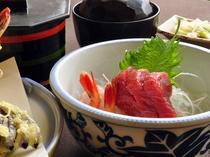 【ビジネスプランのご夕食】新鮮な海の幸もご提供