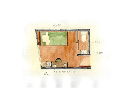 洋室シングルトイレ付き 夏のお得な割引プラン お得な割引価格を設定致しました。