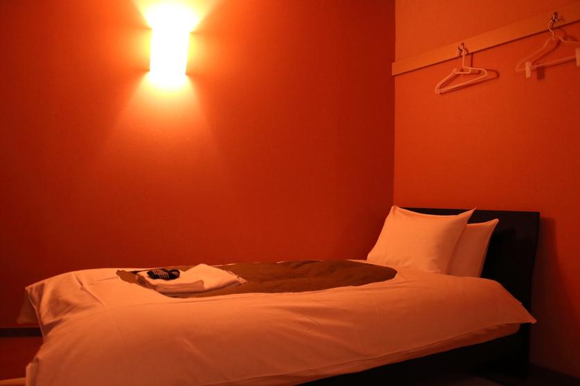 和室シングルベッド 室内