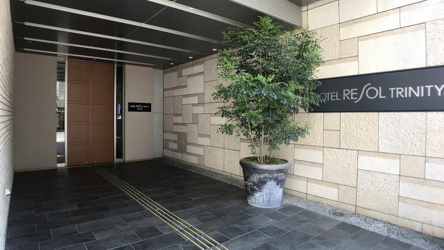 (新)ホテル正面玄関