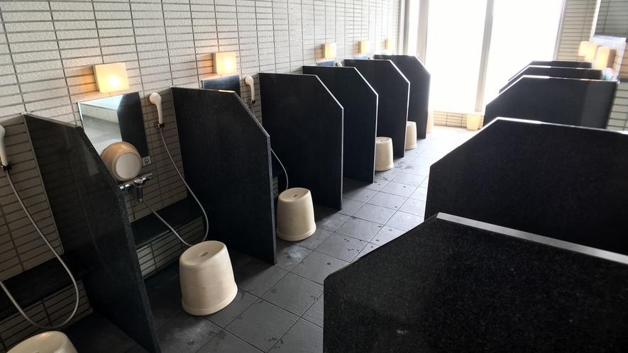 (新)洗い場(男湯)