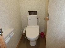 101号室 ウォシュレット付き トイレ