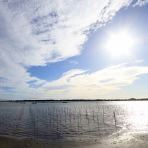 晴天の浜名湖♪美しい景色も是非楽しんで下さい☆