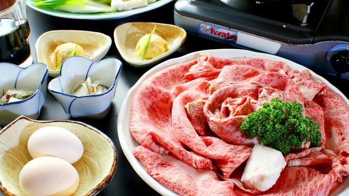 【関西風★但馬牛すき焼き】絶品◆肉の旨味が溢れ出す♪≪奥神鍋野菜×但馬牛≫