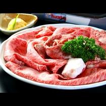 すき焼きのお肉 アップ