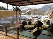 露天風呂 - 冬