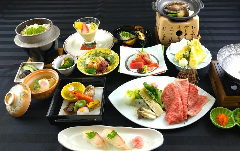 「春」季節の会席料理