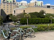 レンタサイクル ホテル裏 イメージ