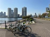 レンタサイクル 豊洲公園 イメージ