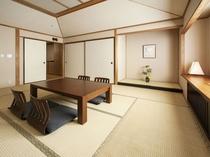 和室/畳や襖、そして床の間が持つ趣