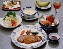 夕食の一例(1泊目)