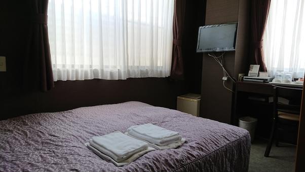 【喫煙】ダブル ベッド