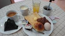 朝6時から10時までの朝食
