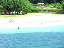 ビーチ(遠景)