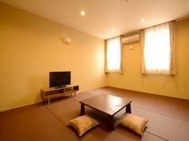 カラー温泉付和室の客室例