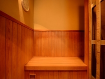 サウナ&檜風呂温泉付客室