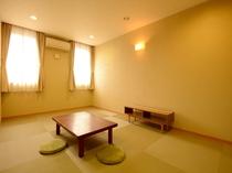 33平米の岩盤浴付きの客室
