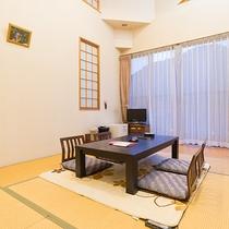 *【和室8畳】冬にはコタツをご用意致します。