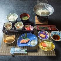 *【朝食一例】バランスの取れた和朝食をご用意致します。