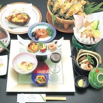 【夕食一例】梅コース