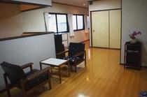 2階の休憩スペース