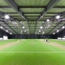 ≪スポーツ施設≫テニスコート/雨の日でもプレイ可能なインドアテニスコート※イメージ