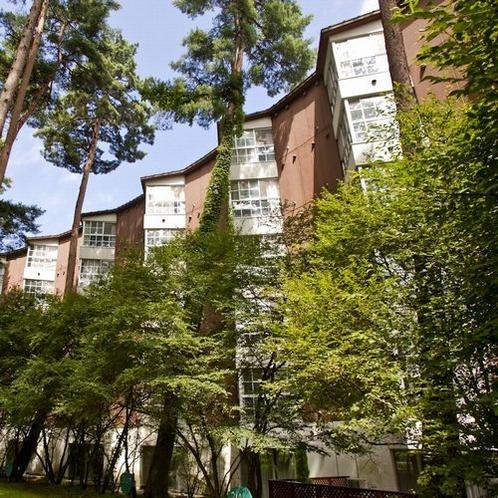 【外観】スポルシオン/赤松の高木に囲まれ、静かに自然を感じます※イメージ
